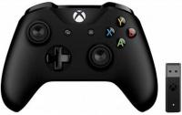 Джойстик Xbox One S Black + Adapter For Windows