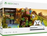 Xbox One S 1Tb + игра Minecraft