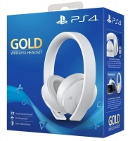 Наушники PlayStation Gold Wireless Headset 7.1 White